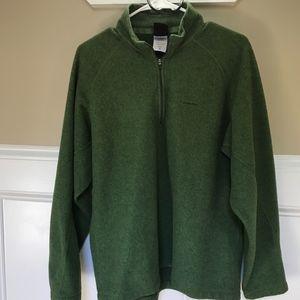 Patagonia Capilene Quarter Zip Green Fleece Jacket